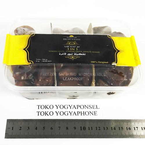 Foto Produk Kurma Tunisia Madu - Sukkari Qasim - Khalas AlSaad 3in1 Asli 500 gram dari yogyaponsel