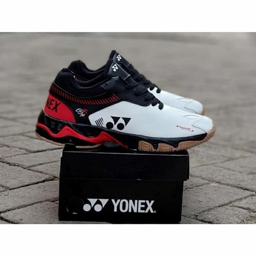 Foto Produk sepatu badminton yonex//sepatu bulutangkis pria - putih merah, 39 dari Mulya_Sport