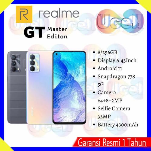 Foto Produk Realme GT Master Edition - 8/256GB - Garansi Resmi - daybreak blue dari ucell cempaka