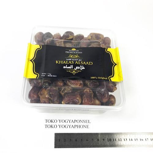 Foto Produk Kurma Khalas AlSaad Asli 1kg 1 kg 1000gram 1000 gram dari yogyaponsel