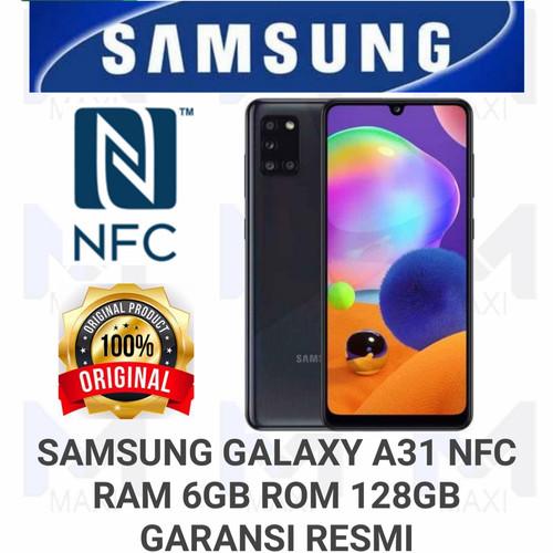 Foto Produk Samsung Galaxy A31 NFC 6/128 RAM 6GB ROM 128GB GARANSI RESMI - Black dari Maxi phone cell