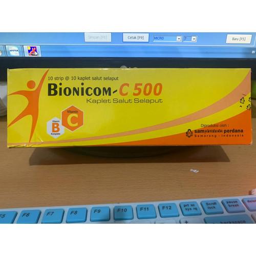 Foto Produk BIONICOM TAB VITAMIN C DAYA TAHAN TUBUH PER STRIP dari aptsehatifarma