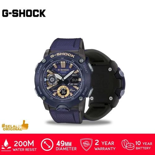Foto Produk Casio G-Shock GA-2000-1A9DR/GA-2000-1A9DR/GA-2000 Original - Biru dari GrosirGshock