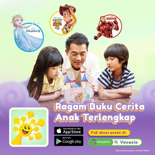Foto Produk Vocacio - 1 tahun Subscription Aplikasi Belajar Membaca untuk Anak dari Vocacio