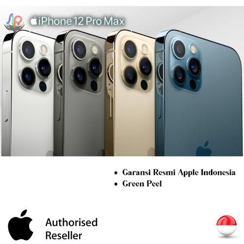 Foto Produk IPhone 12 Pro Max Garansi Resmi Ibox - Pasific Blue, 128 gb dari Cv.Sentra inti pratama