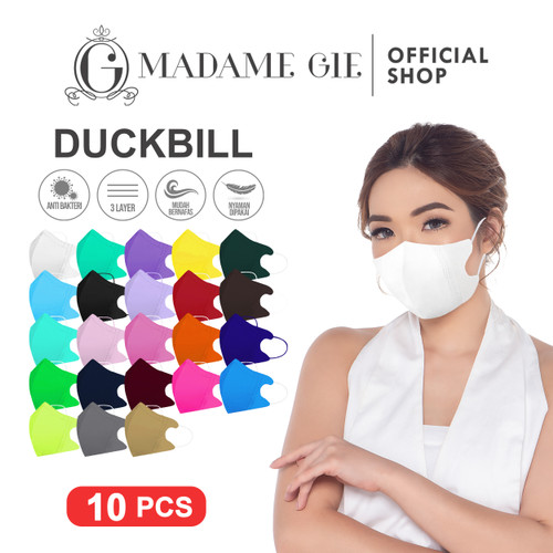 Foto Produk Madame Gie Protect You Duckbill Mask - Isi 10 pcs - Putih dari Madame Gie Official