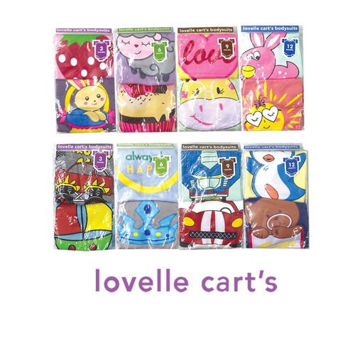 Foto Produk Jumper Lovelle Cart's Short Sleeve 2 in 1 - Girl, 0-3 Bulan dari Lovelle Cart's