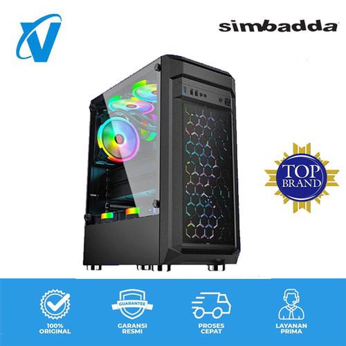 Foto Produk Casing Gaming Simbadda BATTLEGROUND - BG - 13 dari V-TECHNOLOGY Official Store
