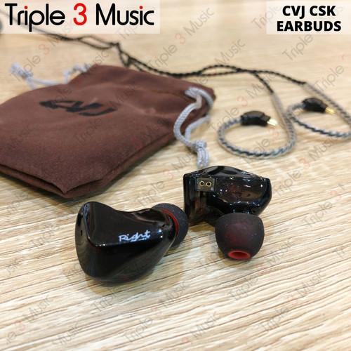 Foto Produk CVJ CSK EARBUDS ORIGINAL in ear monitor dari triple3music