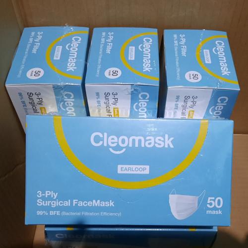 Foto Produk Cleomask Masker Surgical 3-ply dari J_Medical