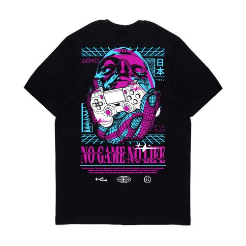 Foto Produk Kaos Pria Kizaru T-Shirt Gamer Series: NO GAME NO LIFE - S dari KIZARU WORLD