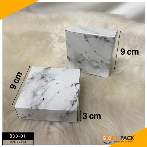 Foto Produk Kotak Kotak Marble  Kotak Packaging Kotak Serbaguna Packaging B33 - B33-01 dari GokilPack