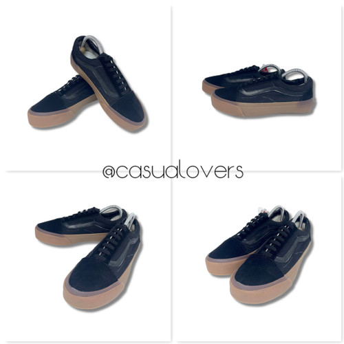 Foto Produk Sepatu Vans Old Skool Hitam/Black GUM PREMIUM - 38 dari casualovers