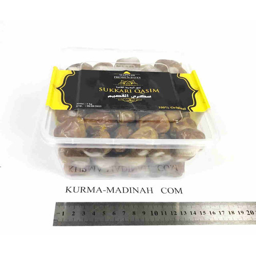 Foto Produk Kurma Sukari Asli 1kg 1 kg 1000 gram 1 KG 1KG Sukkari Sukkary Sukary dari yogyaponsel
