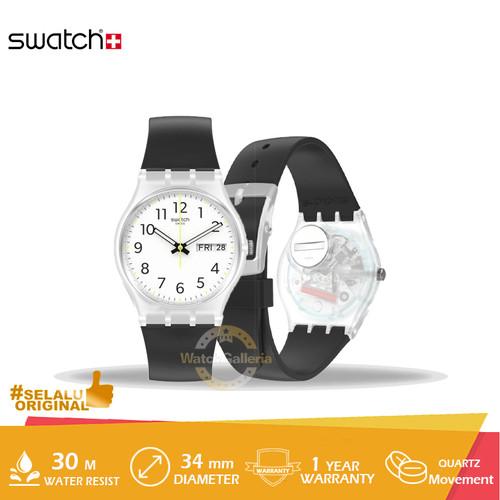 Foto Produk Jam Tangan Swatch RINSE REPEAT BLACK GE726 Original Murah dari GrosirGshock