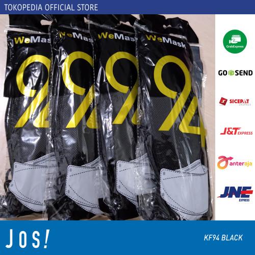 Foto Produk MASKER KF94 EVO KUALITAS IMPORT ISI 10 PCS MURAH BAGUS - Hitam dari J O S