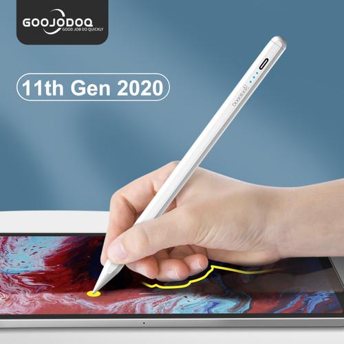 Foto Produk GOOJODOQ Gen 12 Stylus Pencil for iPad Air 4 2021 for Apple Pencil 1 2 - Gen 11th dari GOOJODOQ SHOP