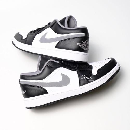 Foto Produk Air Jordan 1 Low Black medium Grey 553558-040 100% Authentic - 45 dari High Gentleman