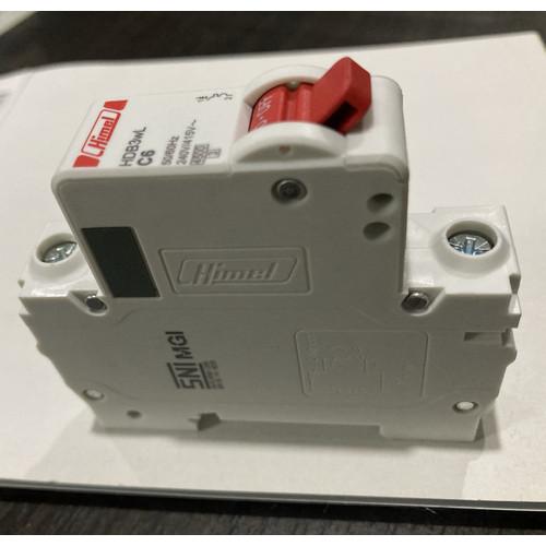 Foto Produk MCB Himel HDB3wL 1p 6amp sampai 40amp dari DONEX