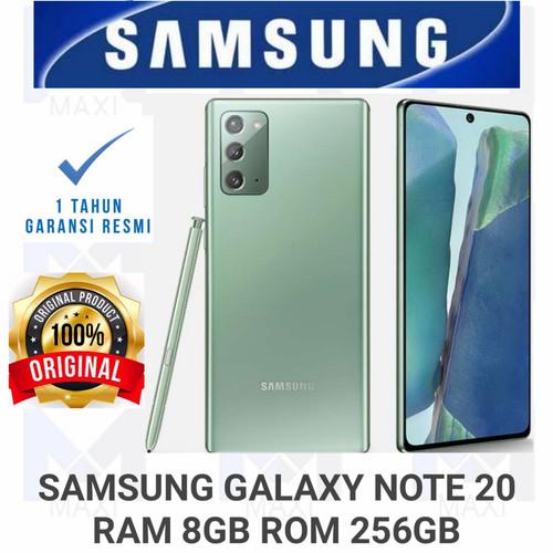 Foto Produk Samsung Galaxy Note 20 8/256 RAM 8GB ROM 256GB GARANSI RESMI dari Maxi phone cell