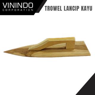 Foto Produk TROWEL/ SENDOK SEMEN LANCIP KAYU dari VININDO OFFICIAL STORE