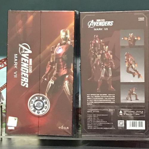 Foto Produk ZD Toys Original Iron Man Mark VII - ZDToys Ironman MK 7 dari Radabab