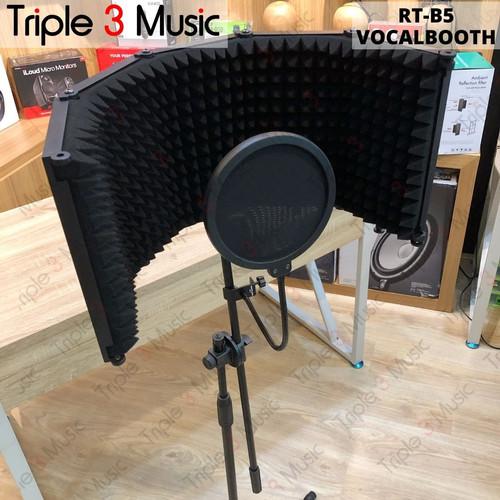 Foto Produk PAKET VOCAL BOOTH Recording Tech B5 5 Pintu Reflection dari triple3music