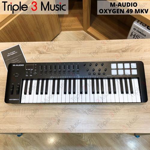 Foto Produk M-Audio Oxygen 49 MK V MK 5 Midi Controller 49 keys Keyboard dari triple3music