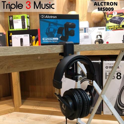 Foto Produk ALCTRON MS009 Hanger headphone gantungan headphone premium kokoh dari triple3music