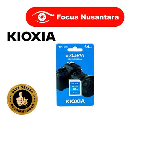 Foto Produk KIOXIA SDXC 64GB Class 10 UHS-1 Exceria 100MB/s dari Focus Nusantara