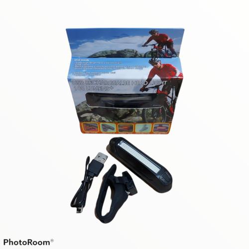 Foto Produk Lampu Belakang Sepeda, Model USB charge hemat baterai dari sixteengear