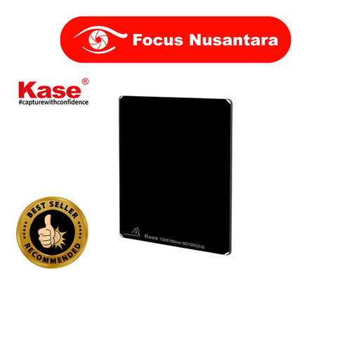 Foto Produk Kase 100 x 100mm Wolverine Solid Neutral Density 3.0 Filter (10-Stop) dari Focus Nusantara