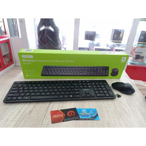 Foto Produk Keyboard ROBOT COMBO KM4000 + MOUSE SILENT BLACK dari ArinGoComputer