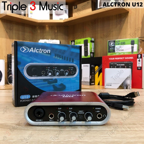 Foto Produk Alctron U12 Soundcard Recording dari triple3music