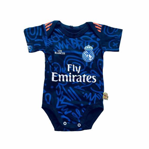 Foto Produk Baju Kaos Bola Bayi Anak Perempuan Laki perlengkapan I Real Madrid Awa dari jerseybolabayicom