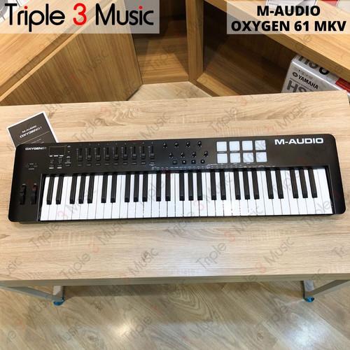 Foto Produk M-Audio Oxygen 61 MK V MK5 Midi Controller keyboard 61 keys dari triple3music