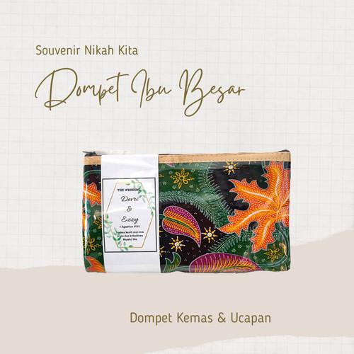 Foto Produk Souvenir pernikahan dompet batik / pouch dompet ibu FREE Kemas n ucapa dari Laris Banyak Order