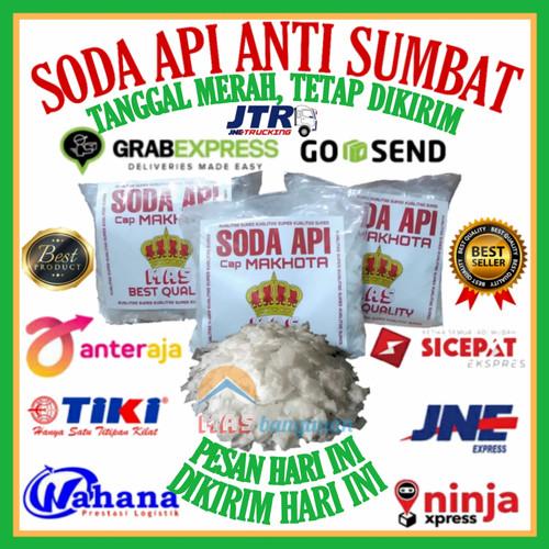 Foto Produk Soda Api Anti Sumbat Mahkota 1/2Kg dan 1 Kg - 1/2Kg(350 Gram) dari MASbangunan