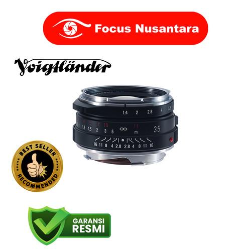 Foto Produk VOIGTLANDER 35mm f/1.4 II SC Nokton Classic VM-Mount dari Focus Nusantara