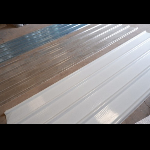 Foto Produk fiberglass atap spandek transparan bening tebal 1mm dari KARYA BAJA SEMESTA
