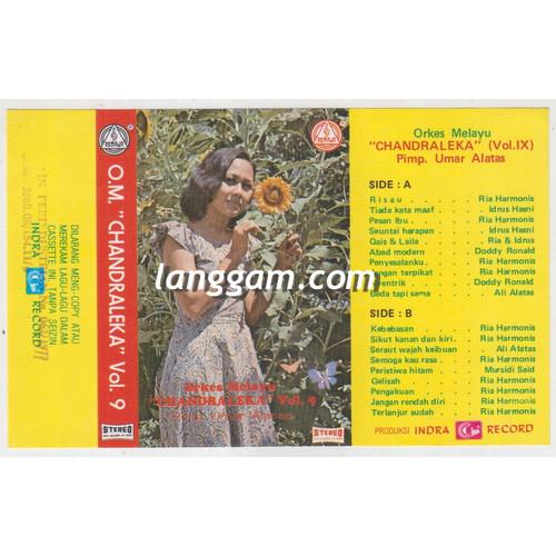 Foto Produk COVER SAMPUL KASET ORKES MELAYU CHANDRALEKA VOL IX dari Langgam