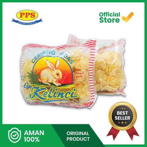 Foto Produk Makanan Ringan Keripik Kerupuk, Ceriping Pedas Cap Kelinci, Enak Gurih - 1/4 kg dari PPS Official Store