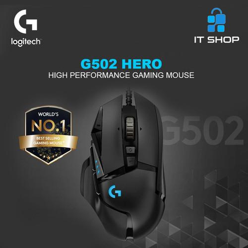 Foto Produk Logitech G502 HERO High Performance Gaming Mouse dari IT-SHOP-ONLINE