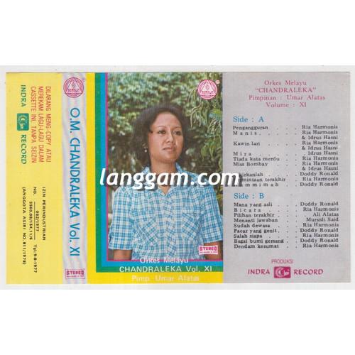 Foto Produk COVER SAMPUL KASET ORKES MELAYU CHANDRALEKA VOL XI dari Langgam
