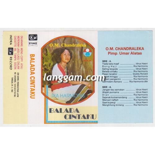 Foto Produk COVER SAMPUL KASET ORKES MELAYU CHANDRALEKA - BALADA CINTAKU dari Langgam