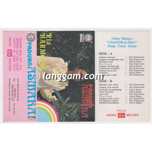 Foto Produk COVER SAMPUL KASET ORKES MELAYU CHANDRALEKA - PADUAN ASMARA dari Langgam
