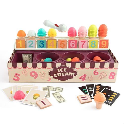 Foto Produk Math & Magic Number Cognitive Ice Cream Box - Mainan Edukasi dari Toko Board Game