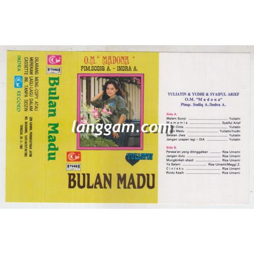 Foto Produk COVER SAMPUL KASET YULIATIN - BULAN MADU dari Langgam