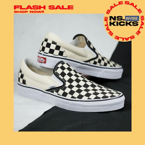 Foto Produk Vans Slip On Checkerboard Classic Original 100% Vans Original Murah - 41 dari nugroho store