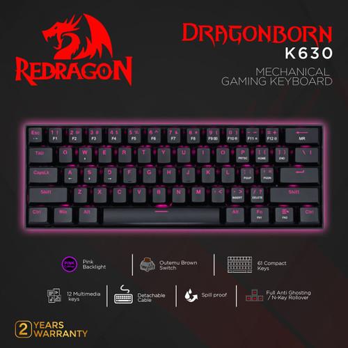 Foto Produk Redragon Mechanical Gaming Keyboard DRAGONBORN - K630 dari REDRAGON INDONESIA